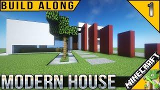 •Minecraft Build Along: Default Modern House E1.1