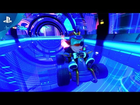 Crash Team Racing Nitro-Fueled – Electron Skins Reveal Trailer | PS4