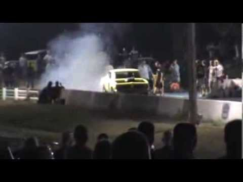 Launching Larry hold up to his name at drag strip