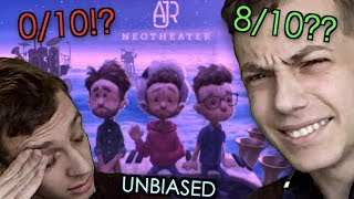 TRY NOT TO BE BIASED CHALLENGE! Reaction to AJR - Neotheater (Analysis + Review)