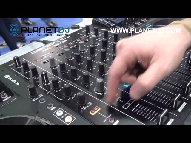 Denon DJ MCX8000 Standalone Player and DJ Controller - NAMM 2016