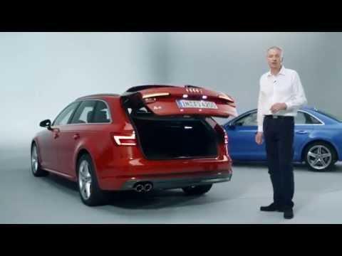 Audi A4 2016 presentation
