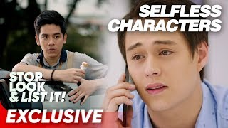Selfless Star Cinema Characters | Stop Look and List It!