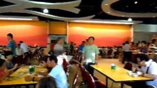 Bangkok - Pattaya Trip Day 3 - Dining Area At Alangkarn