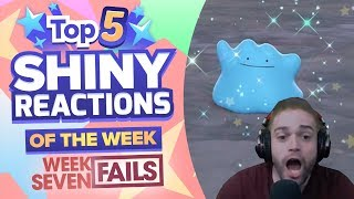 TOP 5 SHINY FAILS OF THE WEEK! Pokemon Let's GO Pikachu and Eevee Shiny Montage! Week 7 by aDrive