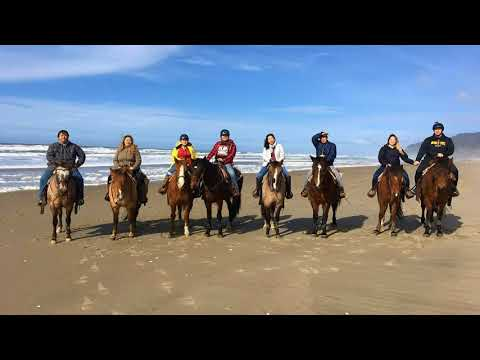 Horseback Riding on the Oregon Coast!