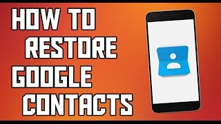 How To Restore Accidentally Deleted Google Contacts Link ----- https://contacts.google.com/preview/allSubscribe For More Interesting Videos --- http://goo.gl/2xya8aSupport Me To Make More Awesome Videos--- https://www.paypal.me/AbdulSufiyanMusic Is From NCS --- https://www.youtube.com/user/NoCopyrightSoundsMy Outro Template Is From --- http://goo.gl/d6RCli__________          (◑‿◐) ▌ šocial ▌ (◑‿◐)__________➨ My Websitehttp://www.technoprotocol.com➨ Facebook 凸(¬‿¬)凸https://www.facebook.com/technoprotocolhttps://www.facebook.com/theabusufiyangeek➨ Instagram https://Instagram.com/abusufiyangeekhttps://Instagram.com/technoprotocol➨ Twitter http://twitter.com/abusufiyangeekhttps://twitter.com/TechProtocolweb________________________________________