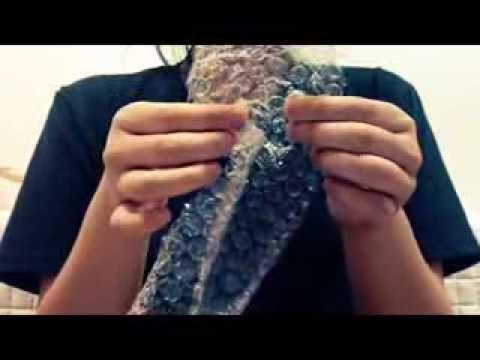 ASMR Air cap(Bubble wrap)_3D sound (видео)
