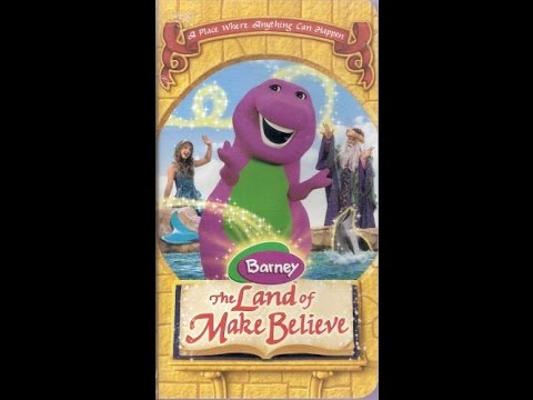 Opening & Closing To Barney:The Land Of Make Believe 2005 VHS