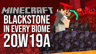 NEW Snapshot 20w19a: Blackstone and Gravel Changes, Strider Distancing