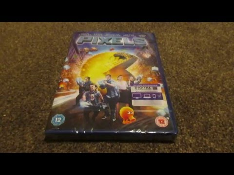 Pixels (UK) DVD Unboxing