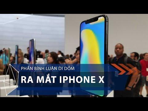 Phần bình luận dí dỏm ra mắt iPhone X | VTC1 - Thời lượng: 1 giờ, 5 phút.