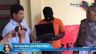Polisi Tangkap Maling Laptop di Masjid Al Makmur