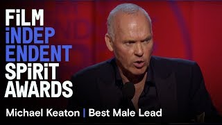 Michael Keaton Wins Best Male Lead At The 30th Film Independent Spirit Awards