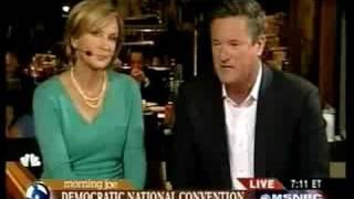 Joe Scarborough melts down throws temper tantrum on live TV