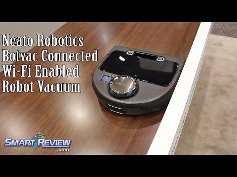 IHHS 2016 | Neato Robotics BotVac Connected | Robot Vacuum with WiFi | International Home Show