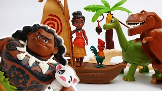 Video Moana & Maui The Secret of Mystic Island~! Protect Hei Hei and Pua MP3, 3GP, MP4, WEBM, AVI, FLV Oktober 2018