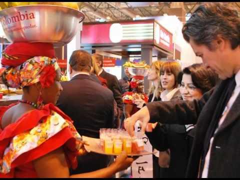 Más de 600 citas de negocios y 18 mil visitantes internacionales en stand de Colombia en Fitur 2012