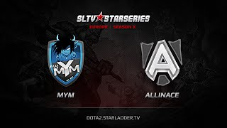 Alliance vs MYM, game 1