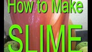 How to Make SlimeSlime is always popular with the kids and the reason why is simple — it's lots of fun! It is much cheaper to make at home, and easy to do.if you want to make Slime, Homemade Slime, this is the perfect video, it is so easy that even a kid can make it withoput problem, just use daily materials for making your awesome Slime and enjoy it at home. Make glue slime with no problem, no borax required for slime