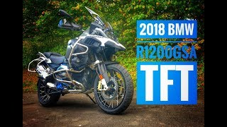 6. 2018 BMW R1200 GS Adventure - TFT Screen Review