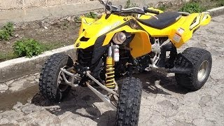 7. Can Am DS 450 EFI