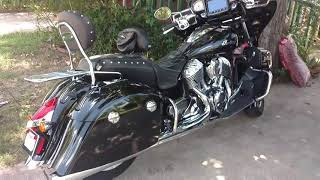 4. 2017 Indian Roadmaster with attachments