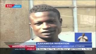INVENTION: Homemade non-electric machine used for washing in Kakamega