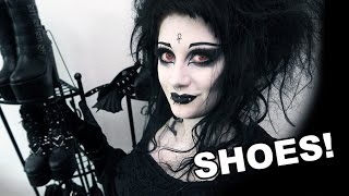 CLICK HERE TO OPEN EVERYTHING YOU WANT TO KNOW!  :) ☥ Become a Belfry Bat ❥ http://bit.ly/1v9fZZN ☥ Facebook: http://www.facebook.com/itisblackfriday☥ Instagram: http://instagram.com/itsblackfriday☥ Snapchat: Grand-Grimoire☥ Sponsor my videos: http://www.patreon.com/blackfriday☥ Tumblr: http://itsblackfriday.tumblr.com☥ Vampire Freaks: http://www.vampirefreaks.com/BlackFriday☥ Twitter: http://twitter.com/ItsBlack_Friday☥ My Website: http://www.itsblackfriday.com☥ Amazon Wishlist: http://amzn.to/231HFAm☥ Shoes I showed you in order...1. https://goo.gl/ilVxnt2. https://goo.gl/045X0l3. http://amzn.to/2qcUz1P4. http://amzn.to/2qcGmSC5. http://amzn.to/2qd6dJZ 6. http://amzn.to/2qa8KFN7. http://amzn.to/2qI47W28. http://amzn.to/2q3KJ7b9. http://amzn.to/2rub3qZ10. http://bit.ly/2mFGKHe11. https://goo.gl/NxAEH512. https://goo.gl/4azNCJ13. http://amzn.to/2rLIfXA (similar)14. http://amzn.to/2qd5usm (similar, different brand)15. http://bit.ly/2mFBbsv16. http://amzn.to/2qakkAA17. http://amzn.to/2q4a15j18. http://amzn.to/2r9YKQP19. http://bit.ly/2nACXQJ20. http://amzn.to/2rLScnZ21. http://amzn.to/2qcWoMf22. can't find them!23. http://amzn.to/2rJ2So124. http://amzn.to/2q9LeJ6The above are all linked to the exact page where I got mine, except for the very old ones. Each pair is numbered in the video! x☥ Music:  ~ Suspiria - Awfully Sinister  ~ Suspiria - Allegedly, Dancefloor Tragedy☥ Equipment I Use:~ Main camera: http://amzn.to/2beVtDw~ Underwater camera: http://amzn.to/2biIenw~ V/O Microphone: http://amzn.to/2hSdNdA~ Tripod: http://amzn.to/2beVXtc~ Flexible tripod: http://amzn.to/2beVjfpThis video was not sponsored, all opinions expressed herein are genuine and my own. Some links may be affiliate links.