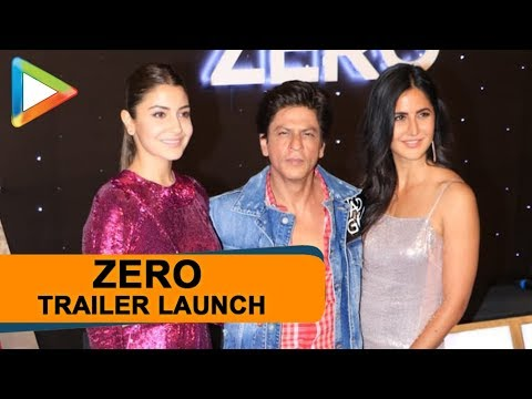 Zero Trailer Launch | Shah Rukh Khan, Anushka Sharma, Katrina Kaif, Aanand L Rai | Part 2