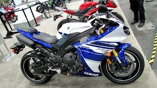 10. 2014 Yamaha YZF-R1 Walkaround - 2013 NY Motorcycle Show