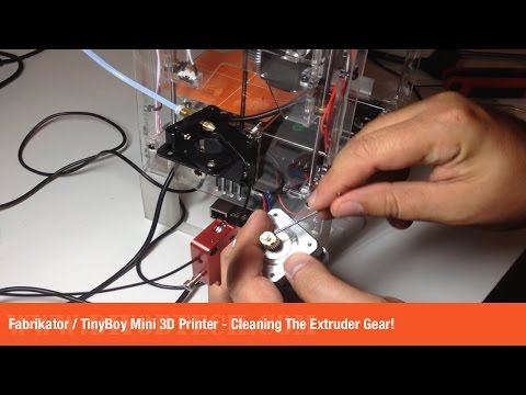 Fabrikator : TinyBoy Mini 3D Printer – Cleaning The ...