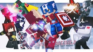 Video Minecraft Adventure - CAPTAIN AMERICA : CIVIL WAR, FULL MOVIE! download in MP3, 3GP, MP4, WEBM, AVI, FLV January 2017