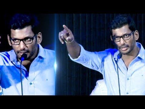 Vishal's Sarcastic comparison with Politician! | Kathirupor Pattiyal | TN 343