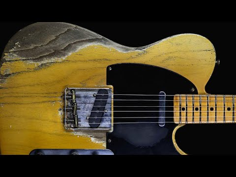 Dark Southern Rock Guitar Backing Track Jam in D Minor