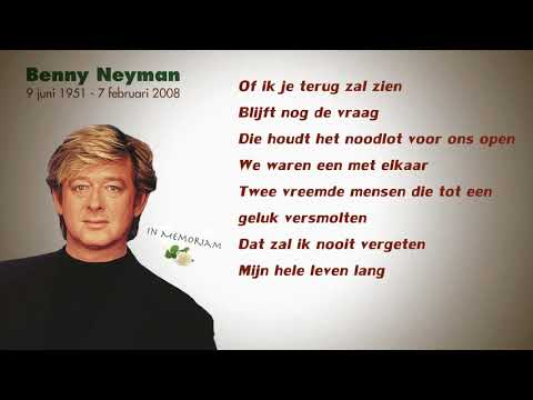 Benny Neyman - Of Ik Je Terug Zal Zien  (Lyrics Video)