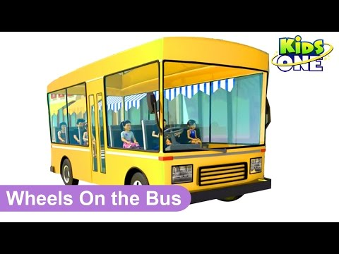 Wheels On The Bus || 3D Animation || Nursery Rhyme