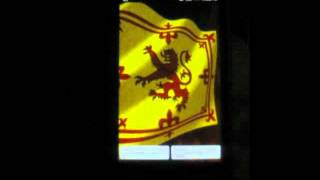 3D Royal Standard of Scotland YouTube video