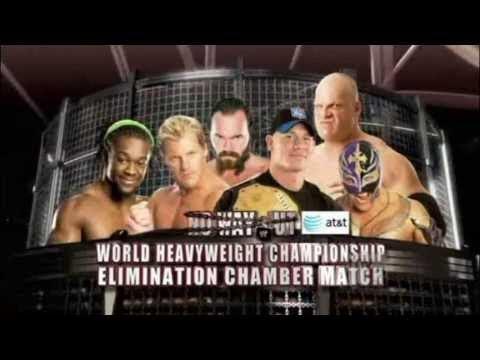 WWE Elimination Chamber Match for the World Heavyweight Champion 2009 Full Highlights
