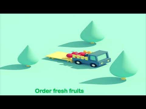Order fresh Fruit & vegetable by Jhakaas grocery app - Jhakaas grocery app