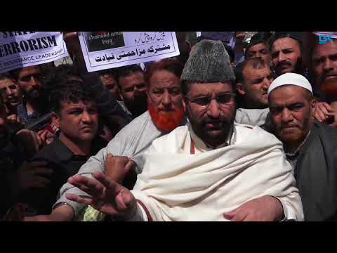 Each killing in Kashmir strengthens our resolve to never give up: Mirwaiz