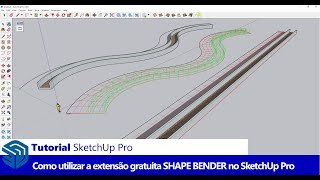 Video Como utilizar a extensão SHAPE BENDER no SketchUp MP3, 3GP, MP4, WEBM, AVI, FLV Desember 2017