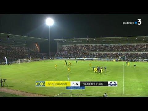 Match de gala FC Gueugnon / Variétés Club de France : LES BUTS