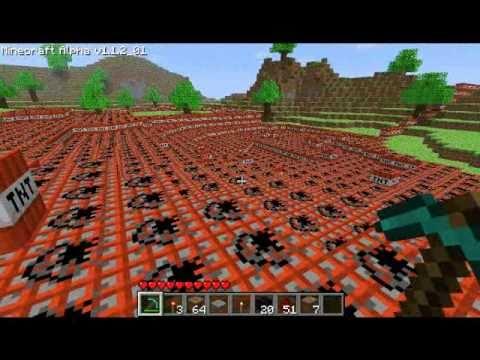 Minecraft - 9001 TNT Explosion
