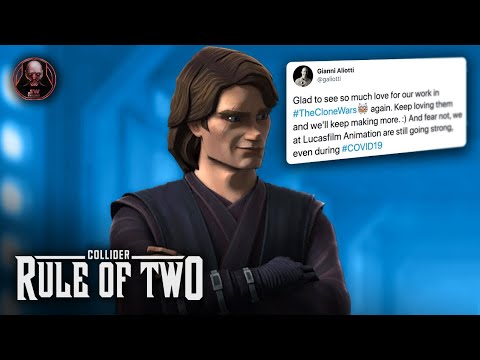 Lucasfilm Hints at MORE Clone Wars Episodes - Rule of Two Podcast