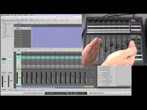 Behringer BCF2000 & Logic Pro user guide – 1/16