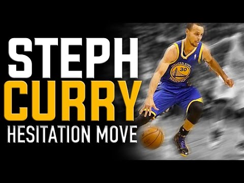Stephen Curry Hesitation Move: NBA Basketball Moves