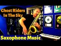 Ghost Riders in the Sky Saxophone Music and Backing Track Download