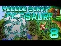 Minecraft: Modded Dinosaur Survival Let's Play w/Mitch! Ep. 8 - ALL THE DINOSAURS!