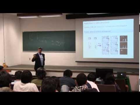 """Conferencia """"Robust principal component analysis"""", por Emmanuel Candes"""